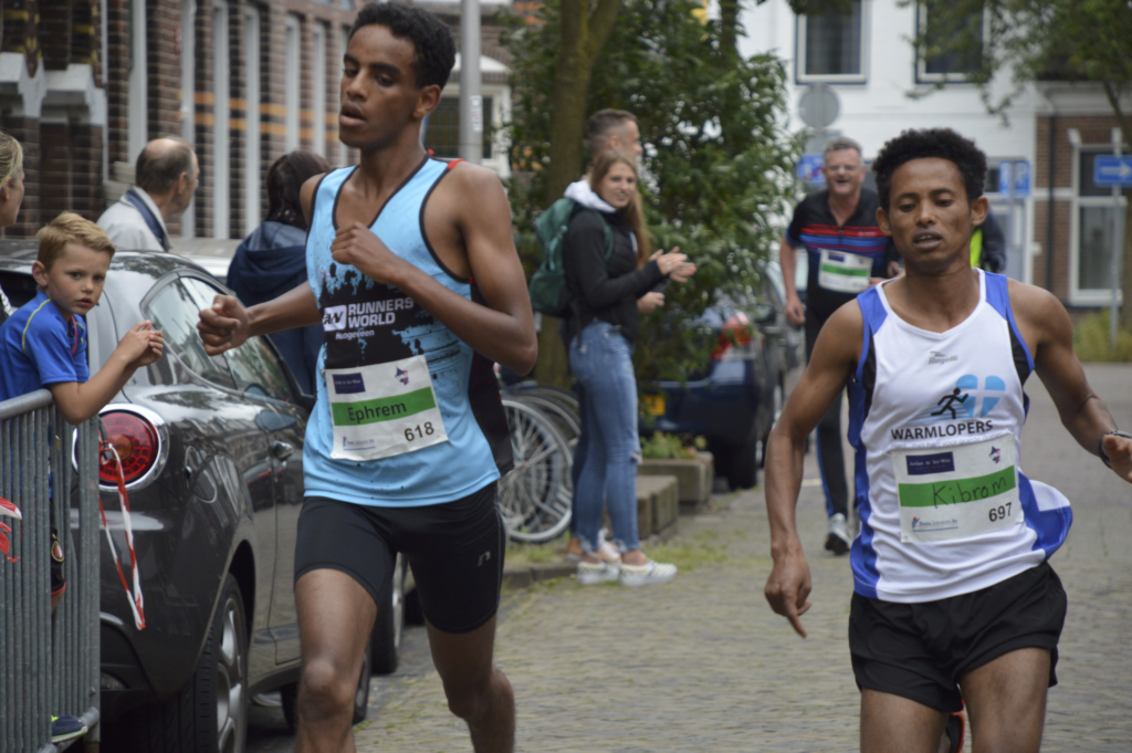 Ephrem Been, winner of AsREndorp 5 KM in 2018.